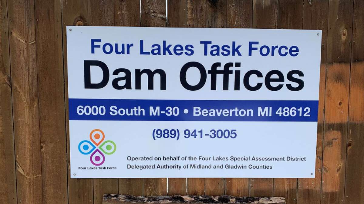 The newly erected sign at the Four Lakes Task Force main office in Beaverton. (Photo provided/ Four Lakes Task Force).