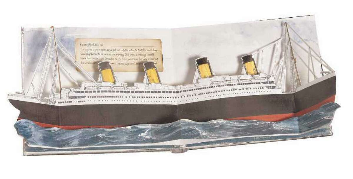 Popup books can take you places you'd like to be, or in the case of
