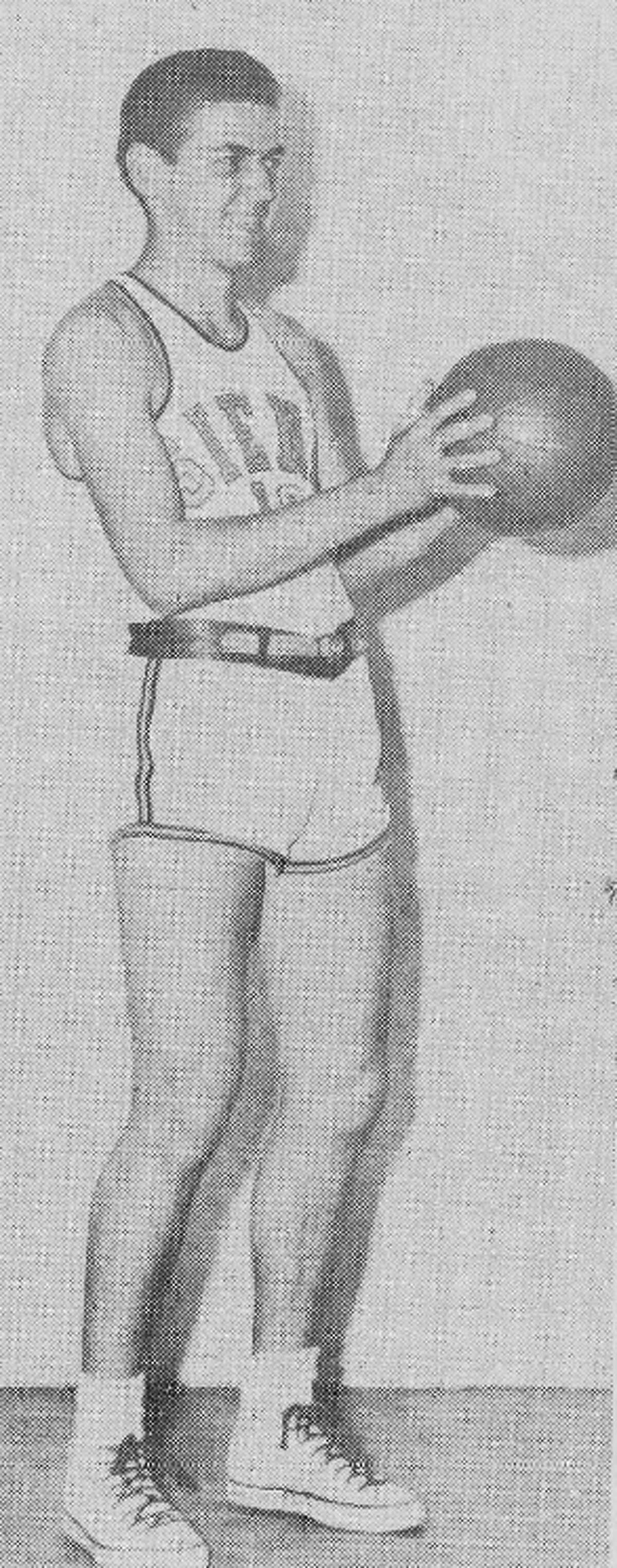Ed Kolakowski, who lives in Brant Lake, was part of Siena basketball teams that won 16 consecutive games over the 1949-50 and 1950-51 seasons. (Siena athletic communications)