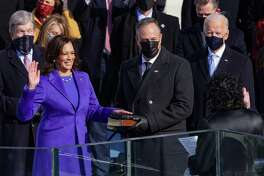 Vice President Kamala Harris is sworn as into office last week. Forget partisanship, it's a historic moment for this nation and one to be celebrated.