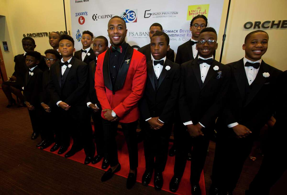 Chauncy Glover mentors young men and hosts an annual black tie gala with the theme