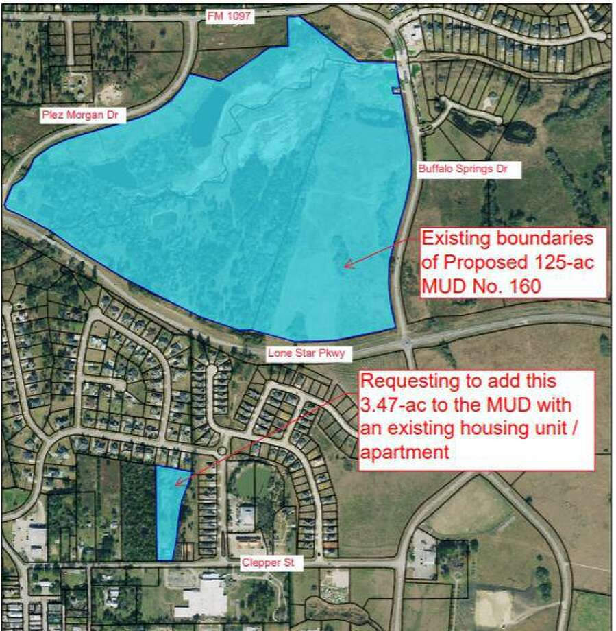 The city of Montgomery is allowing a small parcel of land to be annexed into a proposed municipal utility district that will eventually be the site for future homes. Photo: Submitted Photo / Submitted Photo