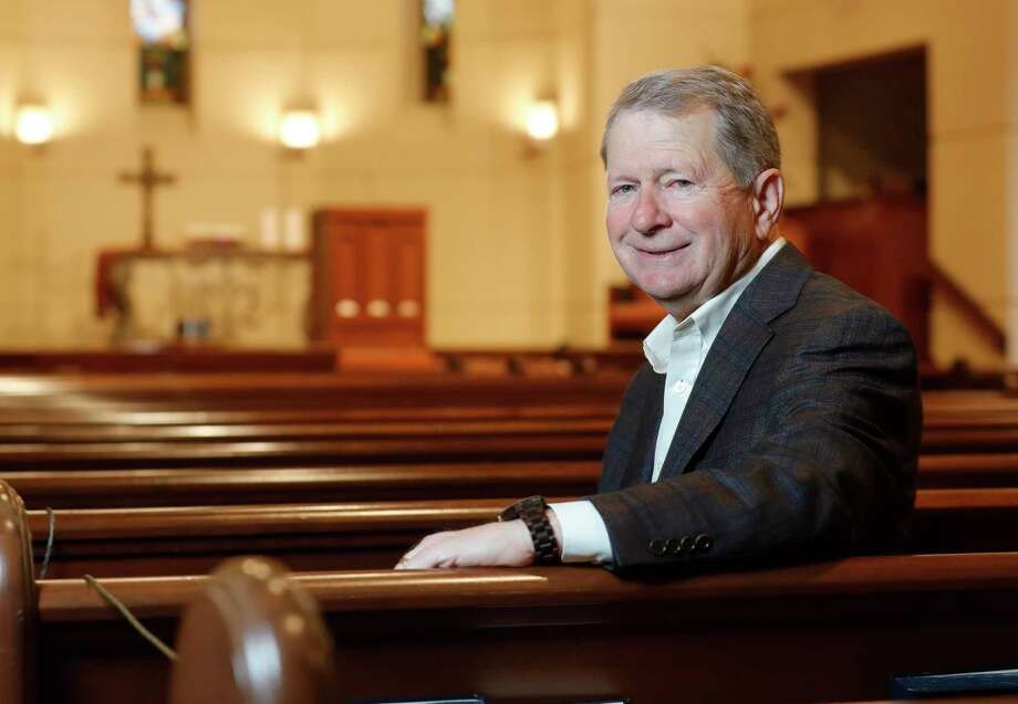 Senior Pastor Ed Robb III will retire as senior pastor at The Woodlands United Methodist Church on June 30, 2021. Robb, who founded the church in 1978, leaves the congregation after 43 years. Photo: Jason Fochtman, Houston Chronicle / Staff Photographer / 2021 © Houston Chronicle