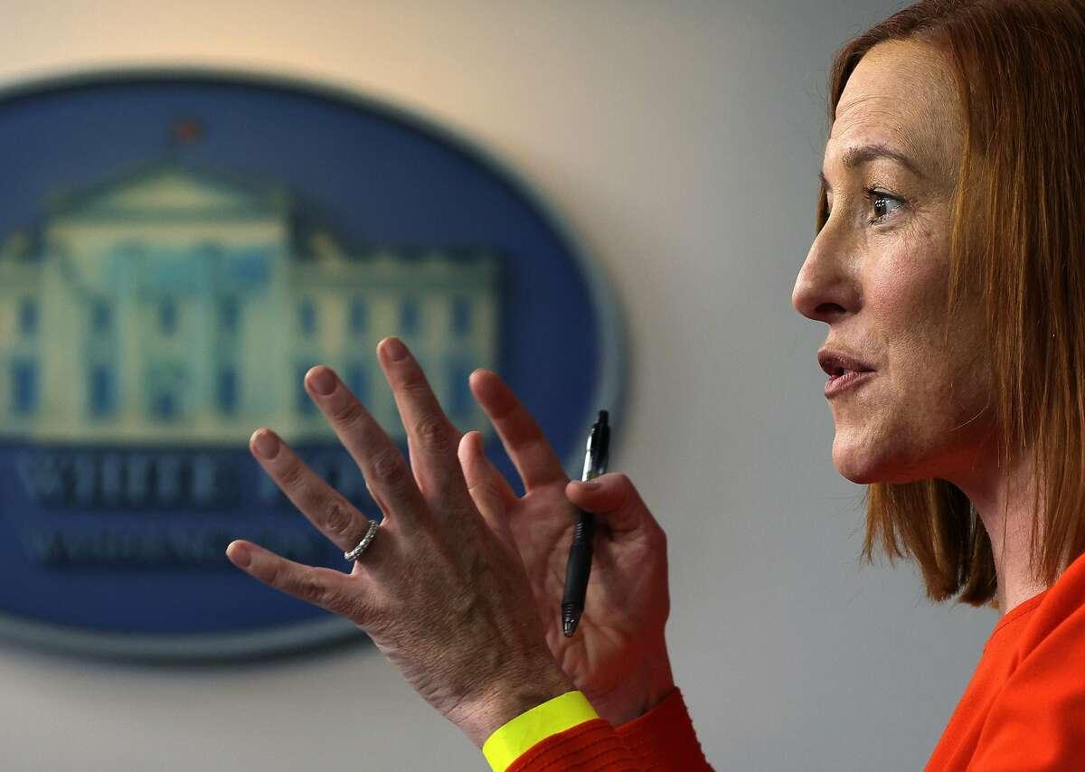 White House Press Secretary Jen Psaki is setting a different tone than her predecessor did.