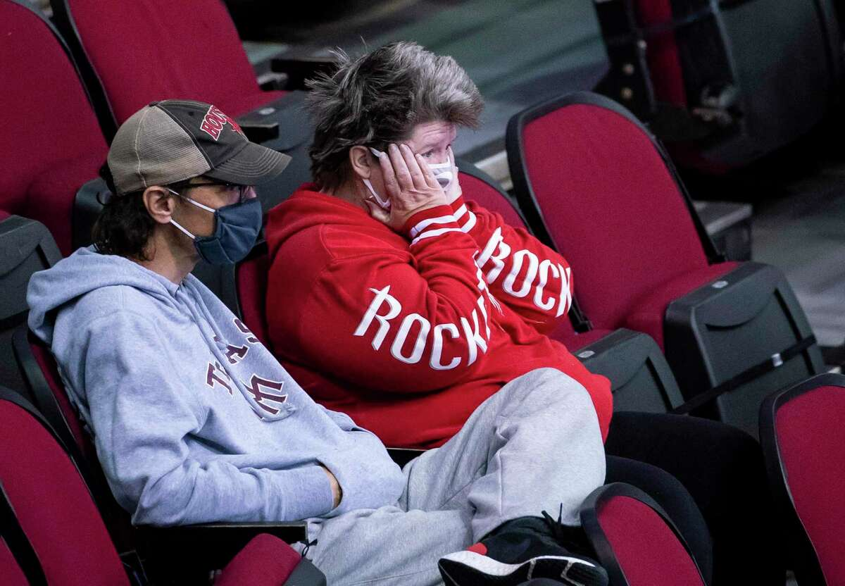 Fans on hand at Toyota Center on Wednesday night saw the Rockets fall behind the Suns by 20 points in the first half before eventually losing 109-103.