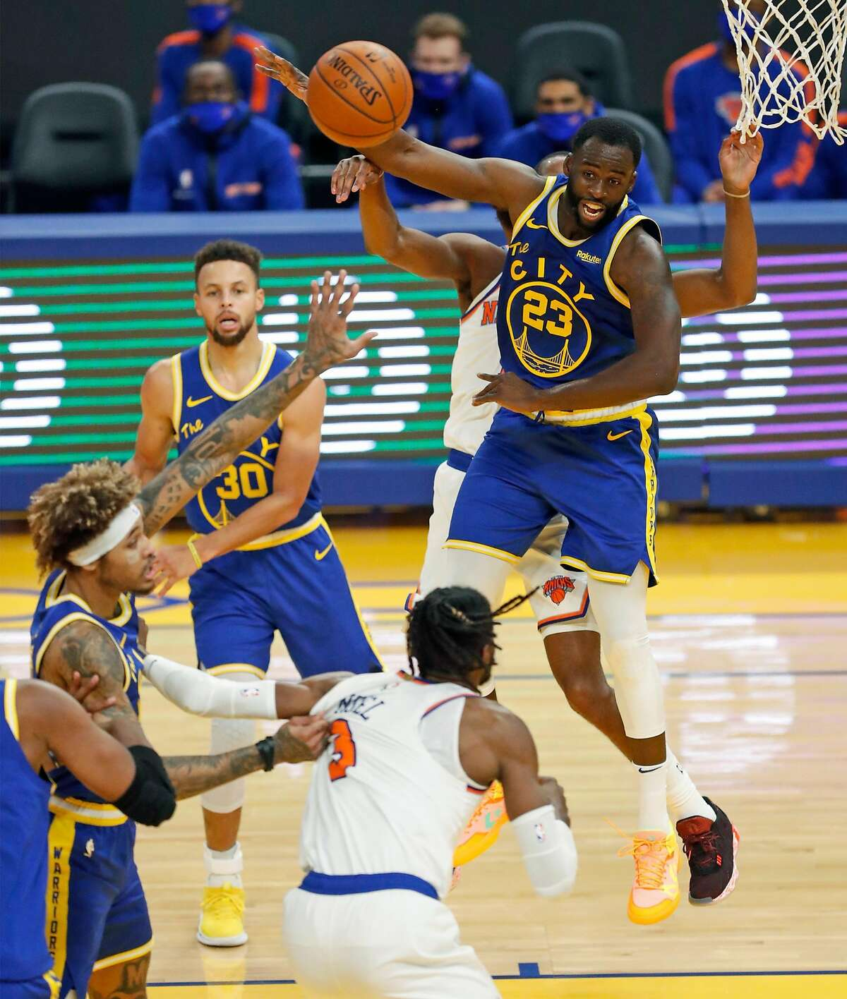 Draymond Green's 4.8 points per game on 34.9% shooting may not pop off the stat sheet, but his supreme court awareness is far more important to the Warriors.