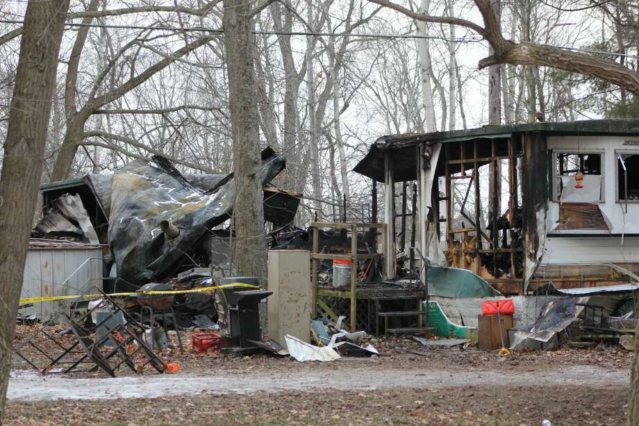 According to a press release from the Huron County Sheriff, fire departments found the body of a lone female occupant in the trailer home near Port Austin on Thursday Jan. 21 when responding to a fire at the location. Photo: Paige Withey