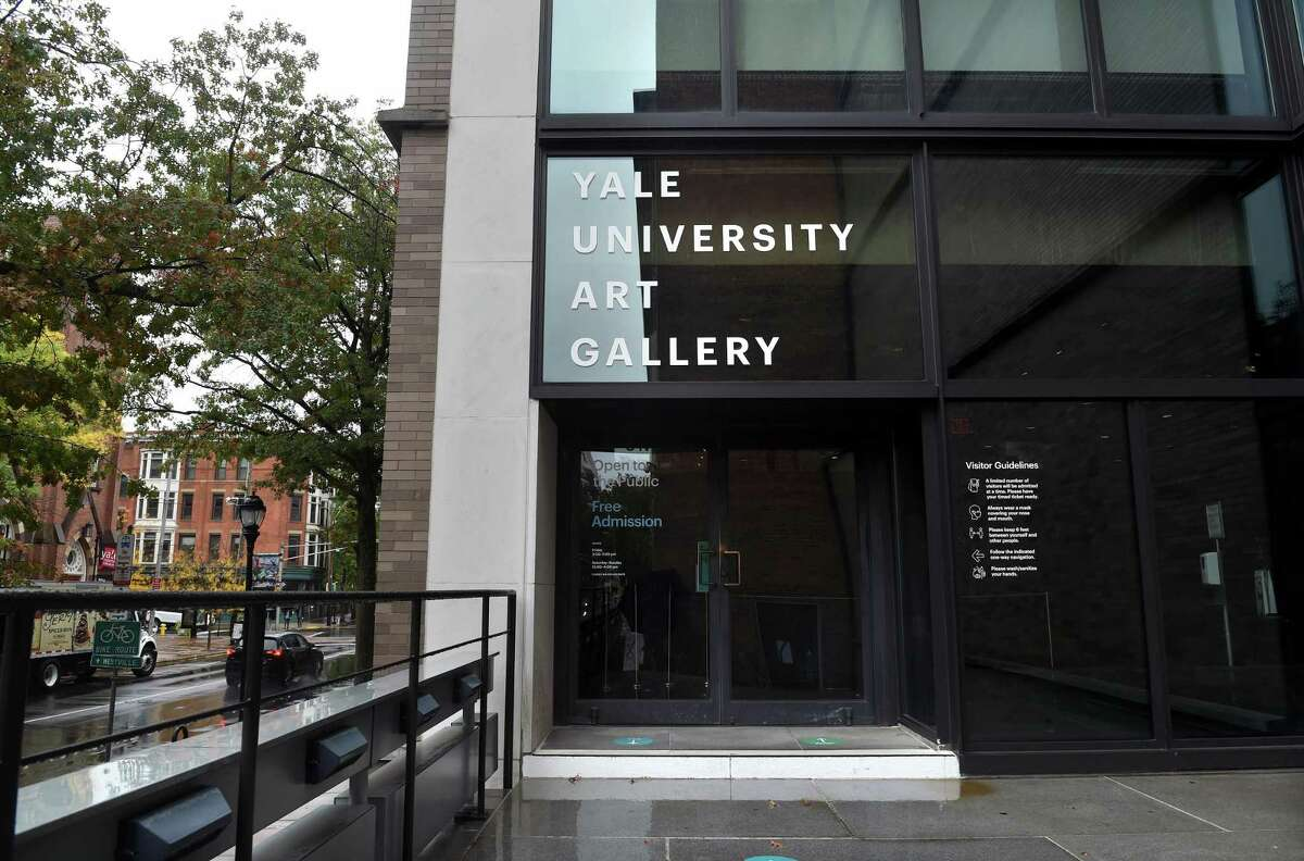 The Yale University Art Gallery in New Haven.