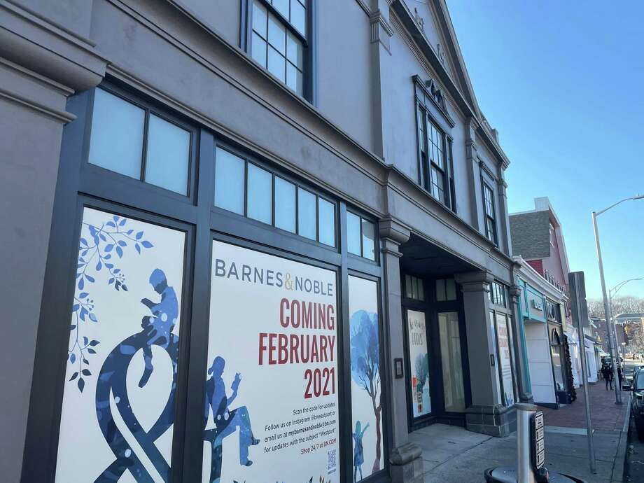 Barnes & Noble plans to open on Feb. 24, 2021 its store at 76 Post Road E., in downtown Westport, Conn. The company this week confirmed an opening date of Feb. 24, after last month's announcement of the move. The new 10,000-square-foot location will be about half the size of the store that Barnes & Noble operated for 23 years in the Post Plaza shopping center at 1076 Post Road E. The new storefront at 76 Post Road E. had been the home of a Restoration Hardware store that operated for about 20 years until its closing last year. From 1916 to 1999, the site had housed the Fine Arts theaters. Photo: File Photo