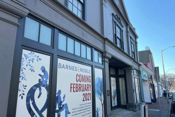 Barnes & Noble plans to open on Feb. 24, 2021 its store at 76 Post Road E., in downtown Westport, Conn.