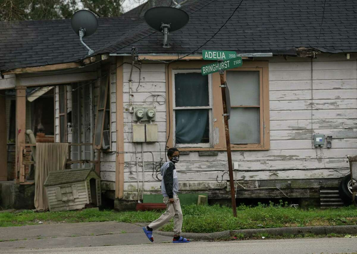 Kashmere Gardens and Fifth Ward have been identified by a state investigation in a newly released report as a place where children contracted leukemia at nearly five times the expected rate of the general population. Photographed Thursday, Jan. 21, 2021, in Houston.