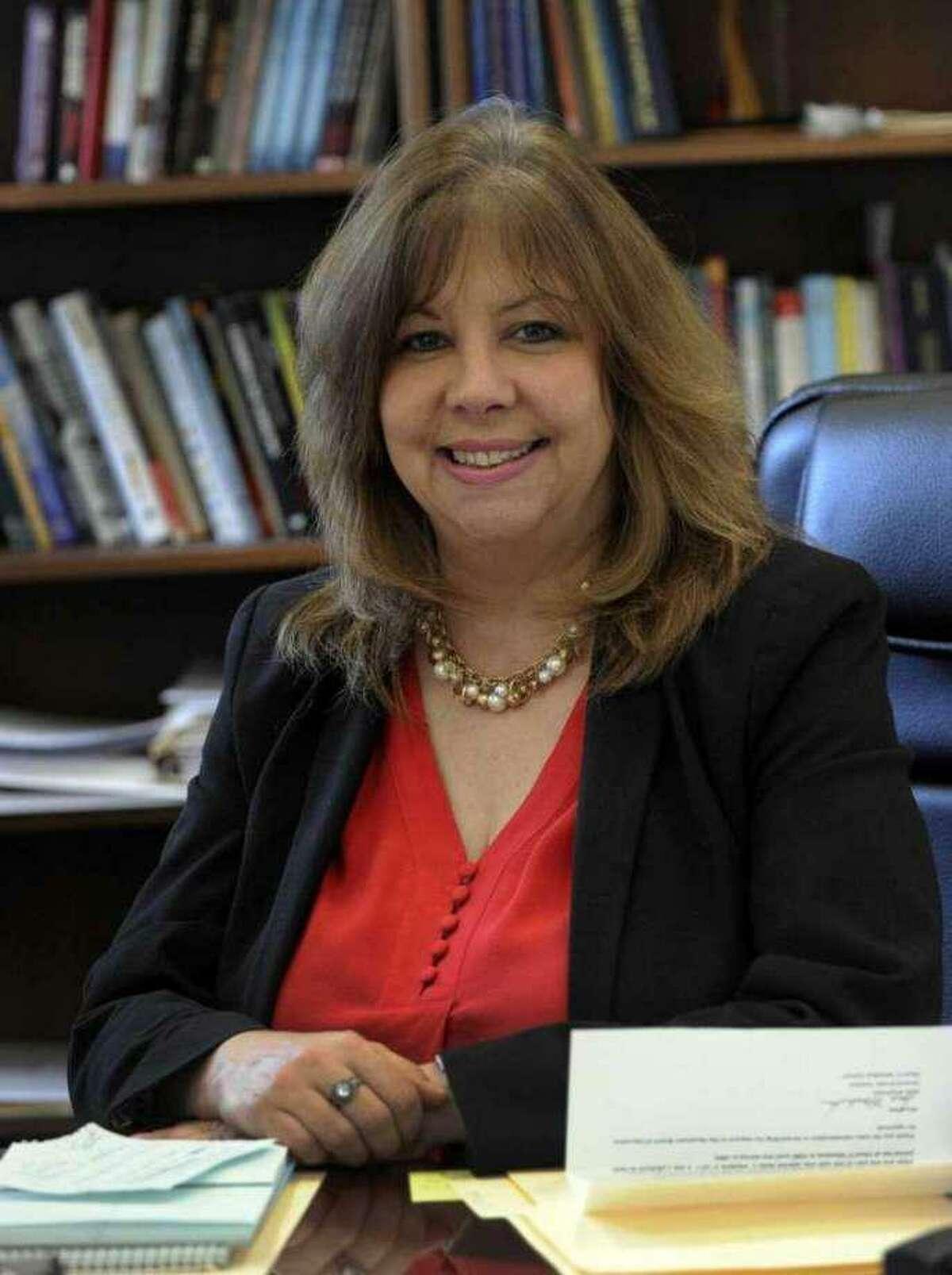 Newtown schools Superintendent Lorrie Rodrigue.