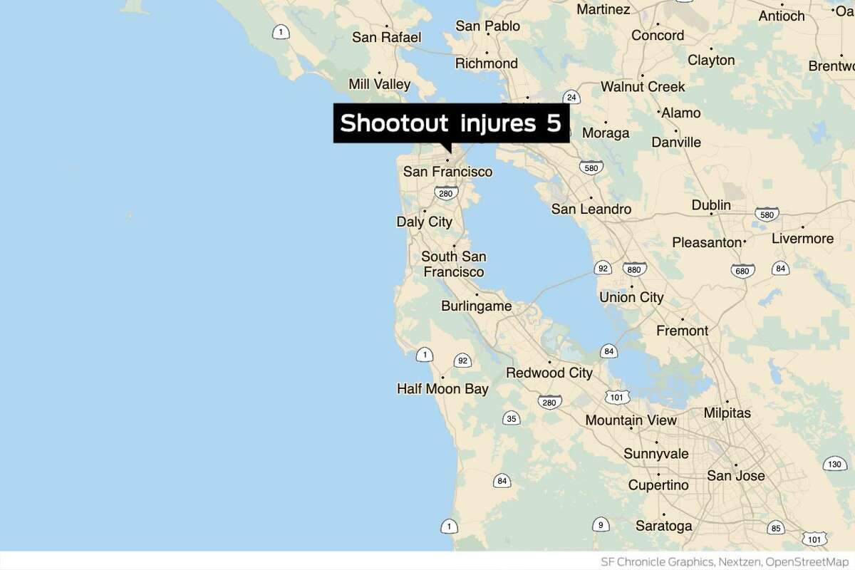 San Francisco prosecutors have filed charges against three men suspected in a Tenderloin shootout Jan. 16, 2021 that injured five people. Four of those injured, police believe, were also the shooters.
