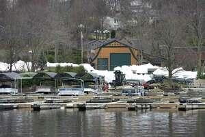 Echo Bay Marina on Candlewood Lake in Brookfield