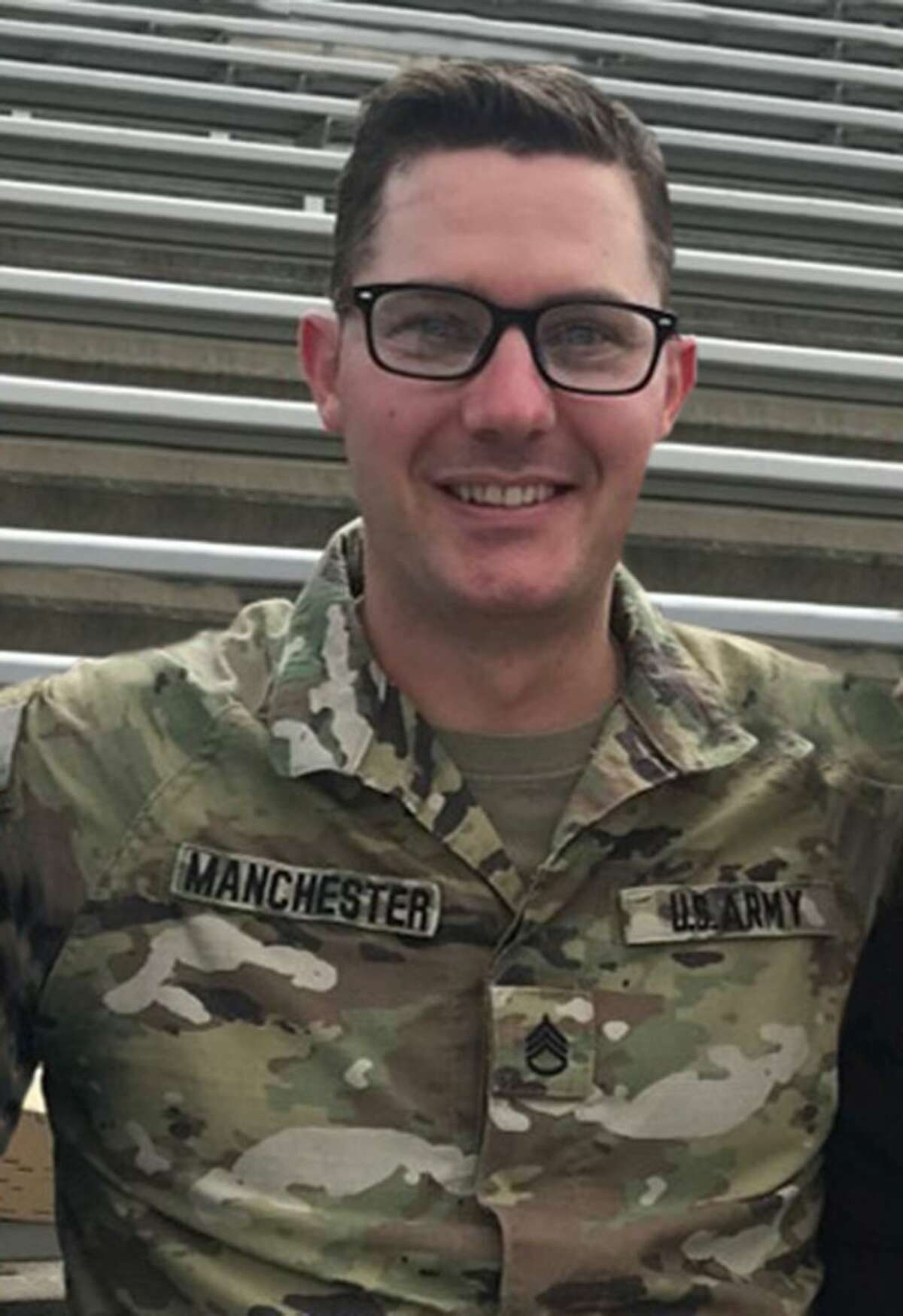 A Texas National Guards soldier died Tuesday in a non-combat related incident while supporting Operation Spartan Shield at Camp Arifjan, Kuwait. Staff Sgt. Timothy Manchester, 34, of Austin, had deployed in September with the 36th Infantry Division, Texas Army National Guard, headquartered in Austin.
