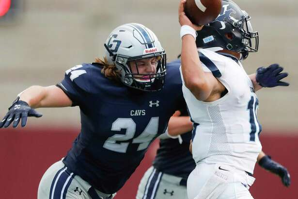 College Park senior linebacker Dylan Hazen is The Courier's All-Montgomery County Player of the Year.