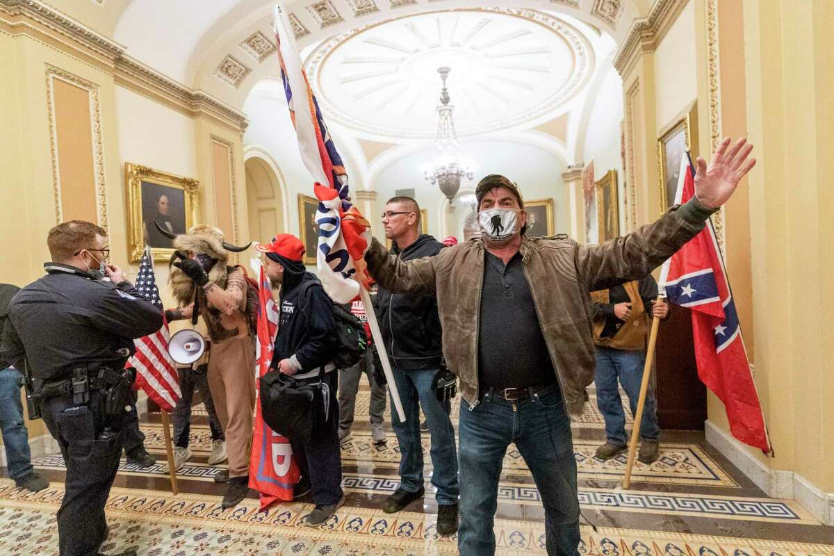 Racism and white supremacy were on full display at the insurrection. The images and pictures from the insurrection tell a disturbing story.