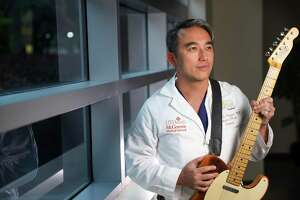 Dr. Phuong Nguyen, a pediatric surgeon with UTHealth, performed with Demi Lovato at a celebration on Inauguration Day.