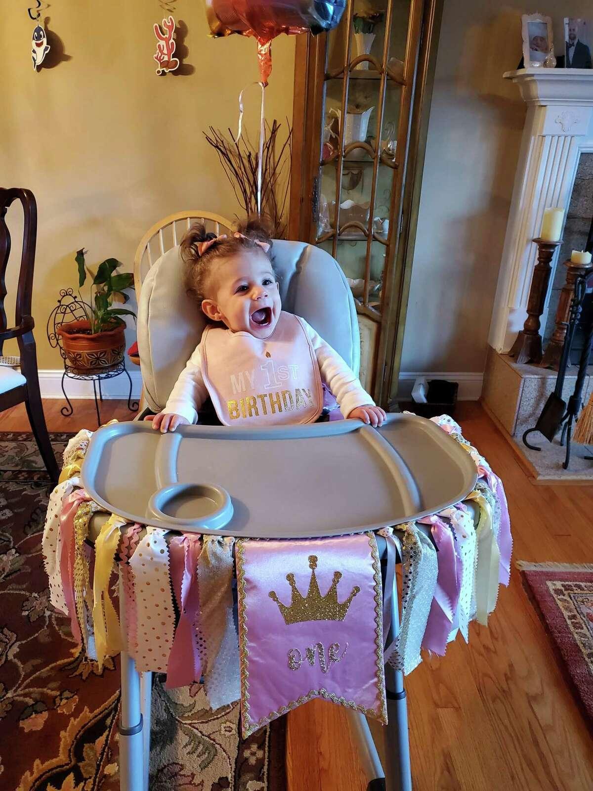 Melissa Castiglia's daughter, Adrianna, turned 1 on Jan. 18.