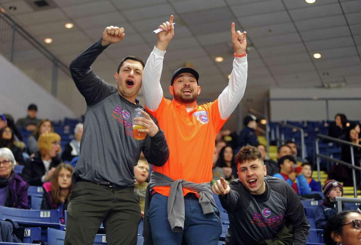 AHL hockey action between Sound Tigers and Hershey at the Webster Bank Arena in Bridgeport, Conn., on Saturday, Jan. 27, 2018. The Sound Tigers announced that they will play a 24-game schedule with no fans for this season.