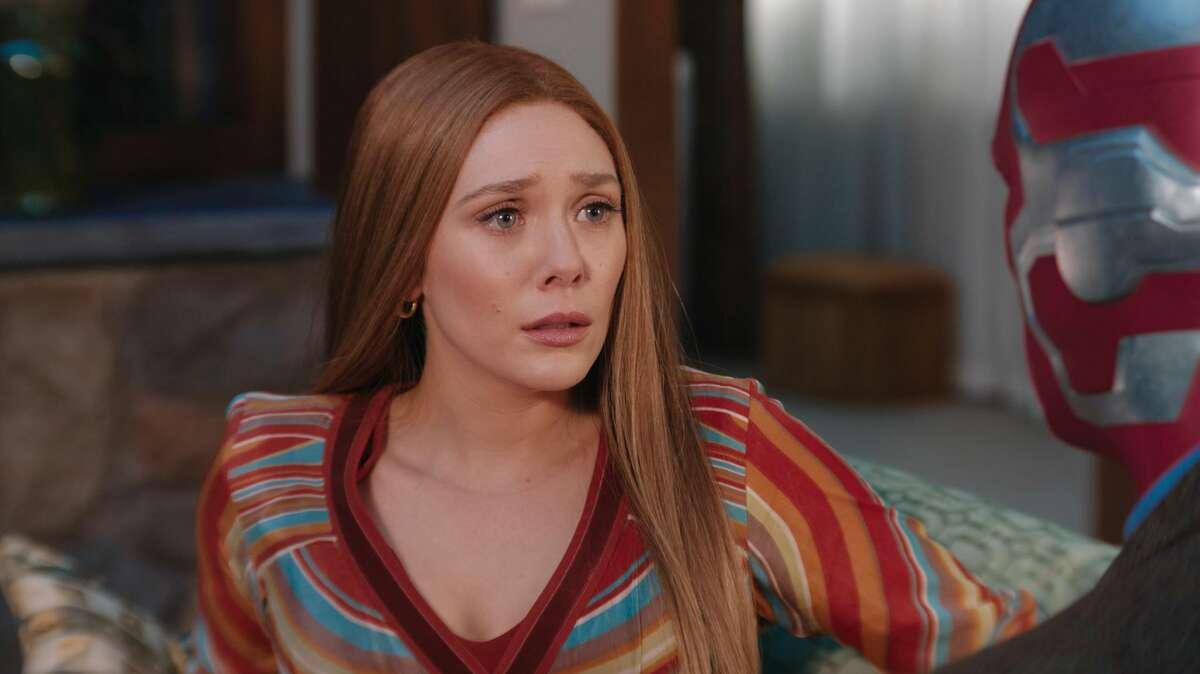 Elizabeth Olsen as Wanda Maximoff (Scarlet Witch) in