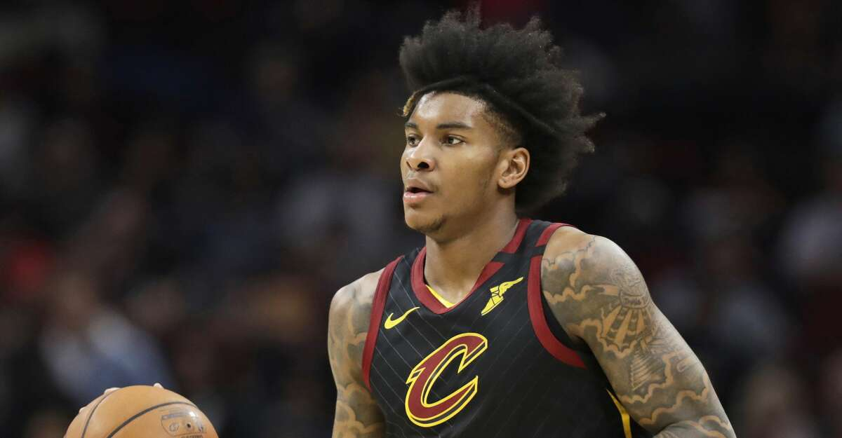 Cleveland Cavaliers' Kevin Porter Jr. drives against the Philadelphia 76ers in the first half of an NBA basketball game in Cleveland, in this Wednesday, Feb. 26, 2020, file photo. (AP Photo/Tony Dejak, File)