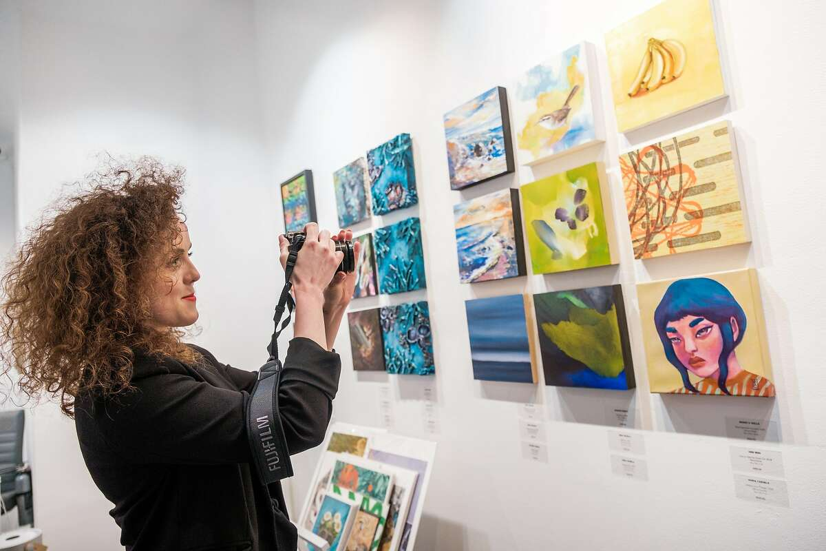 Ashley Voss, who opened a Mission District art gallery six months before the pandemic arrived, worries that California's variant could lead to a longer shutdown.