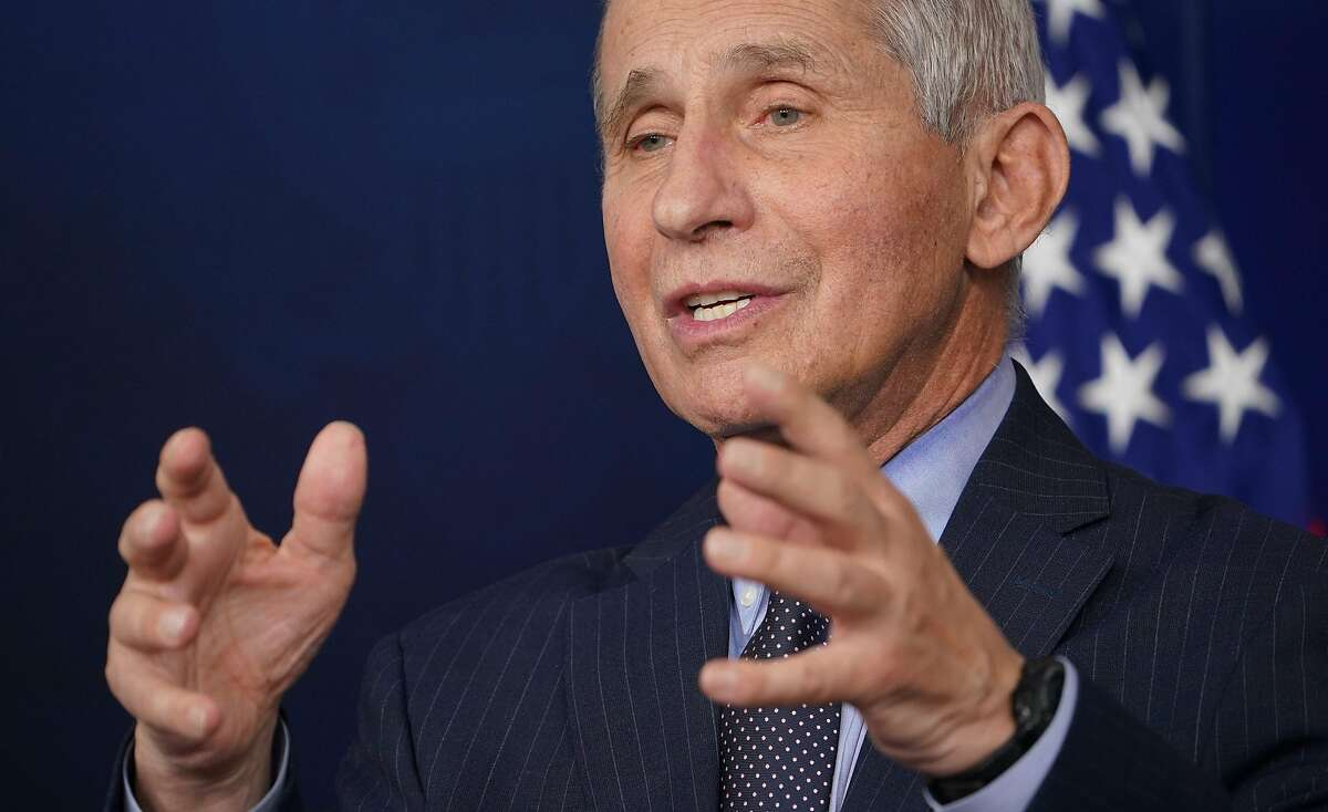 """Dr. Anthony Fauci: feeling """"liberated"""""""