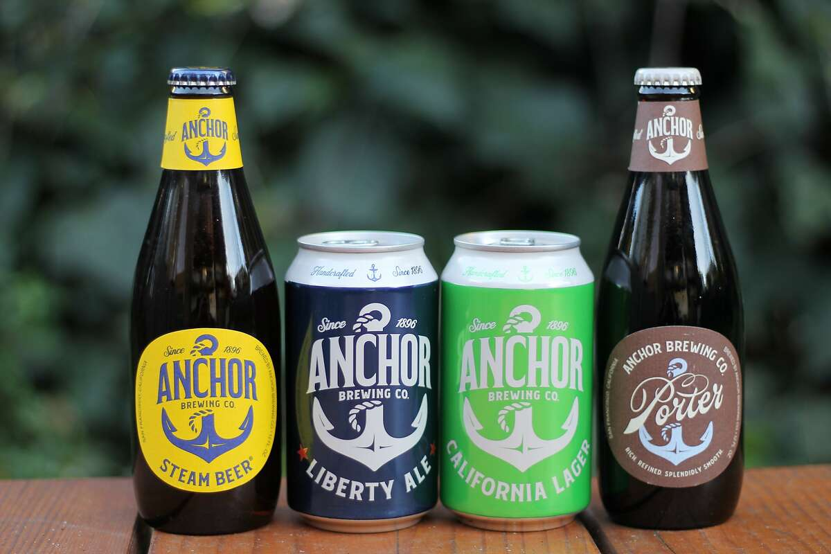 Anchor Brewing, which turns 125 in February, has rebranded its core four beers for the first time ever.