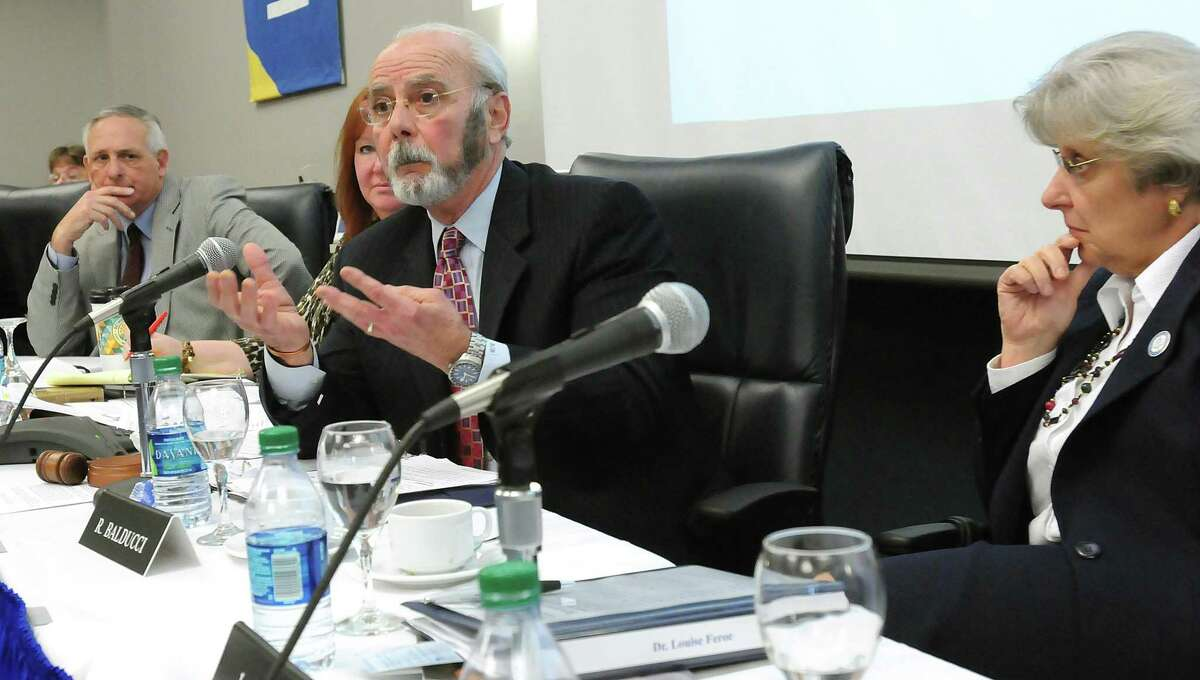 Richard Balducci, the chairman of the state Compensation Commission, in a file photo.