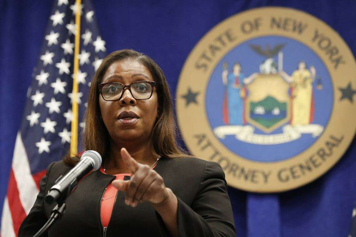 New York State Attorney General Letitia James.