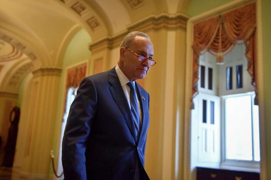 Sen. Charles Schumer, D-N.Y. Photo: Washington Post Photo By Jahi Chikwendiu / The Washington Post