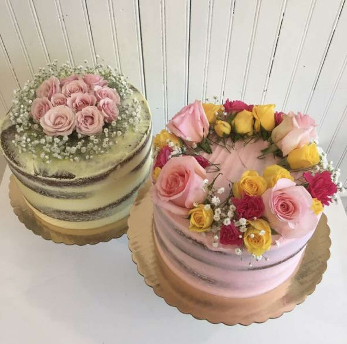 """Cakes from Wildflour Confections in Seymour. """"We are not closing because of COVID,"""" DeMatteo said. It's the uncertainty and the length of time she'll be away, which, she says, won't be just like a month of training. """"I don't want to leave someone else hanging in case a third wave comes,"""" she said."""