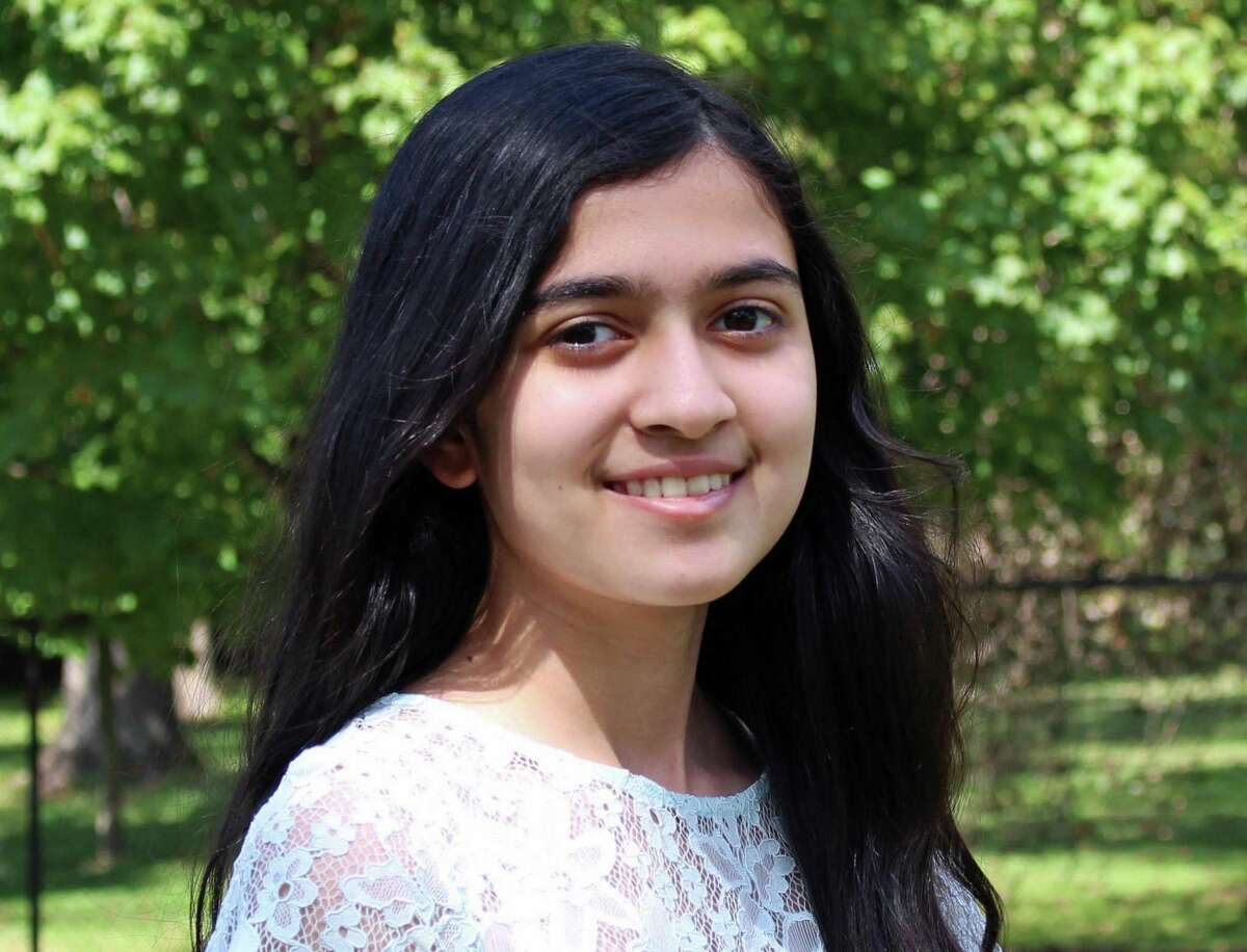 Zara Haque is an eighth-grader from Riverside, Connecticut.