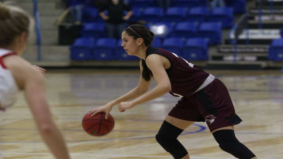 Nicole Heyn scored 11 points Friday in TAMIU's 71-61 loss at No. 2 Lubbock Christian. Photo: Courtesy /TAMIU Athletics