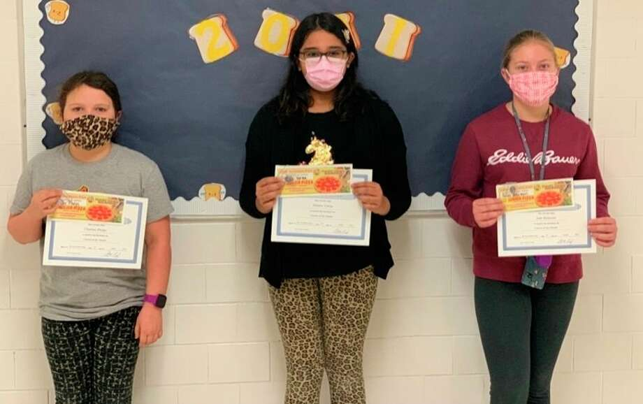 Other Bad Axe Middle School students named were Grade 4 Charliee Phelps, Grade 5 Miraya Verma and Grade 6 Jade Bolzman. (Submitted Photo)