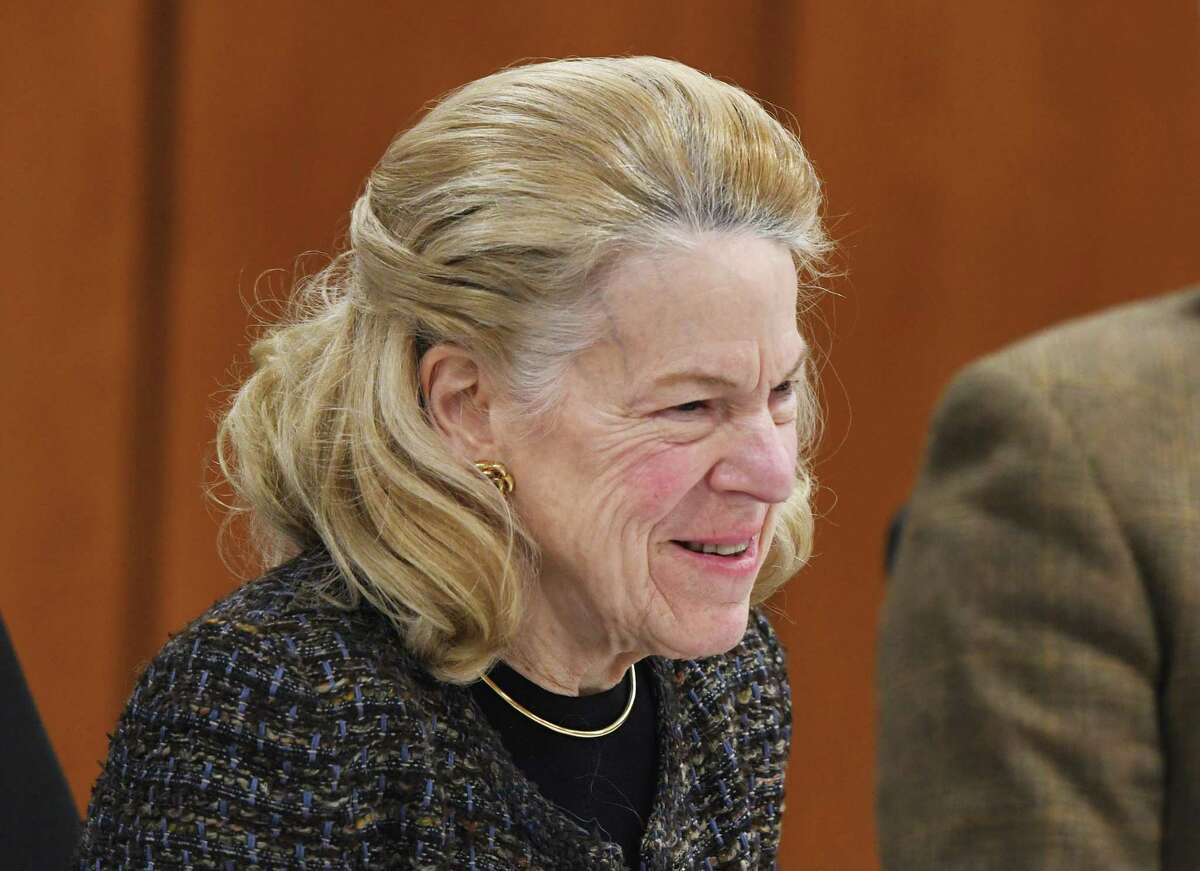 BET Budget Committee Chair Leslie Tarkington, shown here in 2020. On Tuesday, the Budget Committee unanimously approved budget guidelines she put together for the upcoming 2022-23 budget.