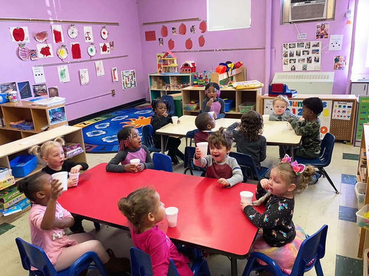 Kreative Kids Learning Center in Alton continues to provide essential services for children despite having reduced capacity due to the COVID-19 pandemic.