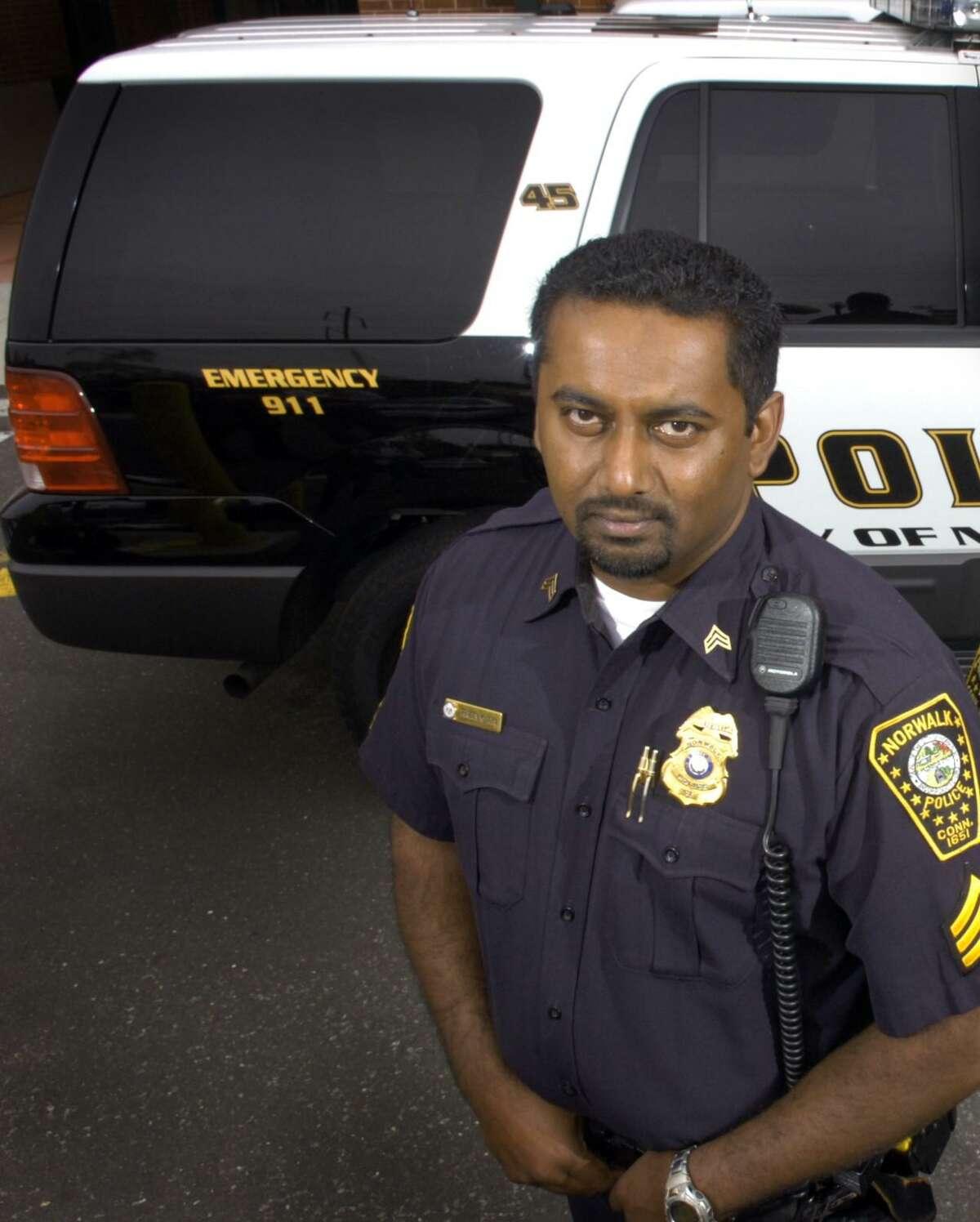 Lt. Praveen John (pictured in 2007)