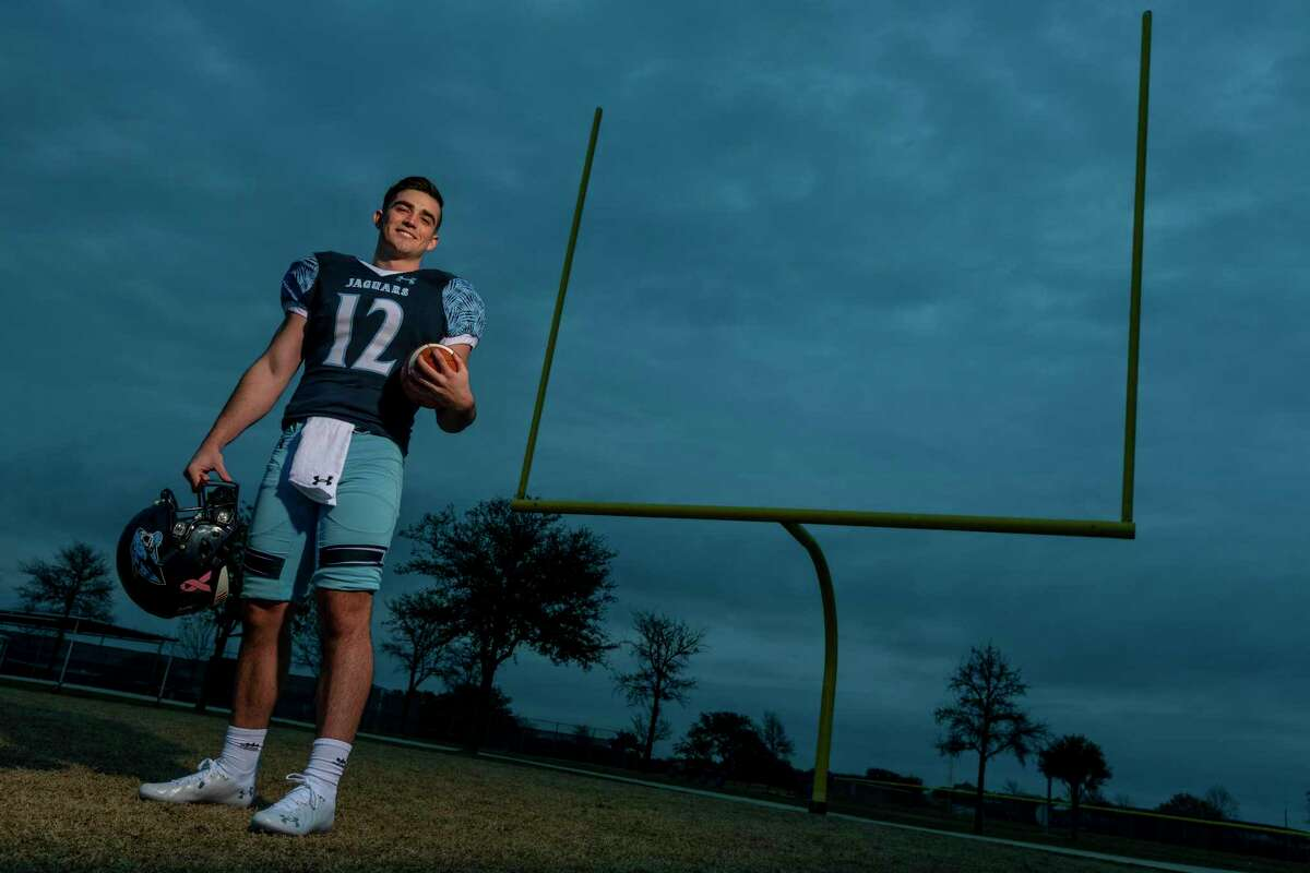 Johnson quarterback Ty Reasoner, the Express-News Offensive Player of the Year, threw for 2,336 yards and 26 touchdowns on 149-of-257 passing with just five interceptions. He'll play his college ball at Air Force.