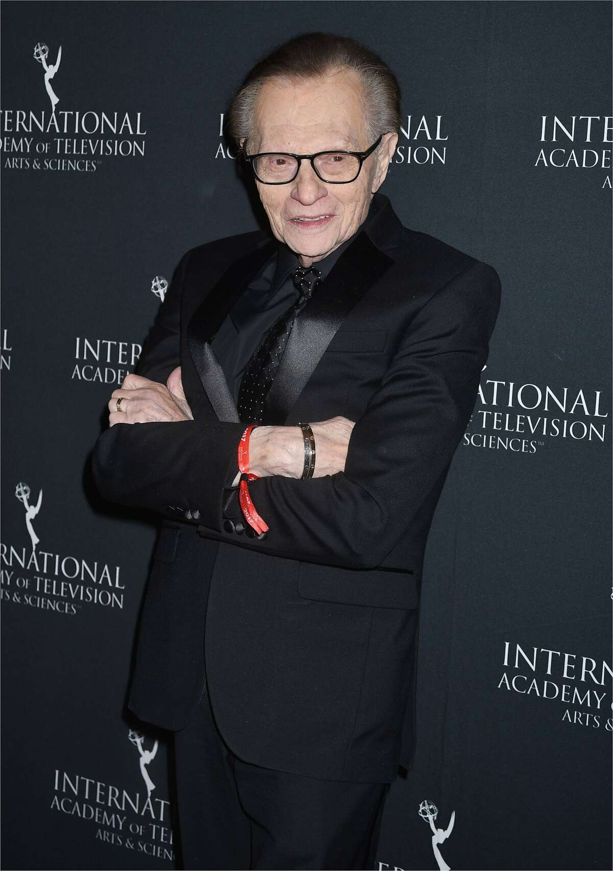 Larry King at the 45th International Emmy Awards at New York Hilton on November 20, 2017, in New York City. (MM/Abaca Press/TNS)
