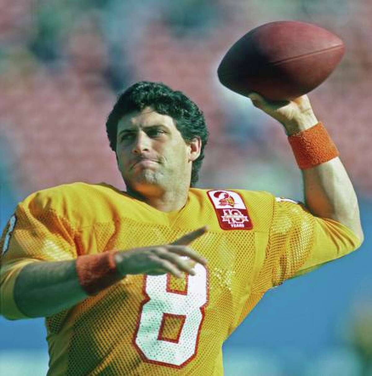Steve Young says he almost died during a snowstorm in Green Bay in 1985.