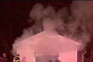 SEYMOUR, Conn. — The fire marshal's office is investigating after a fire in a detached garage around 8:15 p.m. Friday, Jan. 22, 2021. Firefighters said the blaze was extending toward the house when they arrived but was quickly put out.