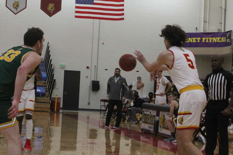 It was another big Saturday win for Ferris 67-45 against Northern Michigan in men's basketball action Photo: John Raffel