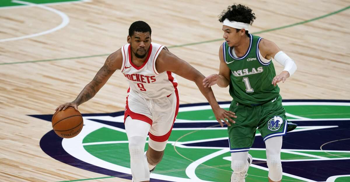 If he makes five 3-pointers Wednesday, Rockets rookie guard Mason Jones can qualify to be the NBA leader in that category.