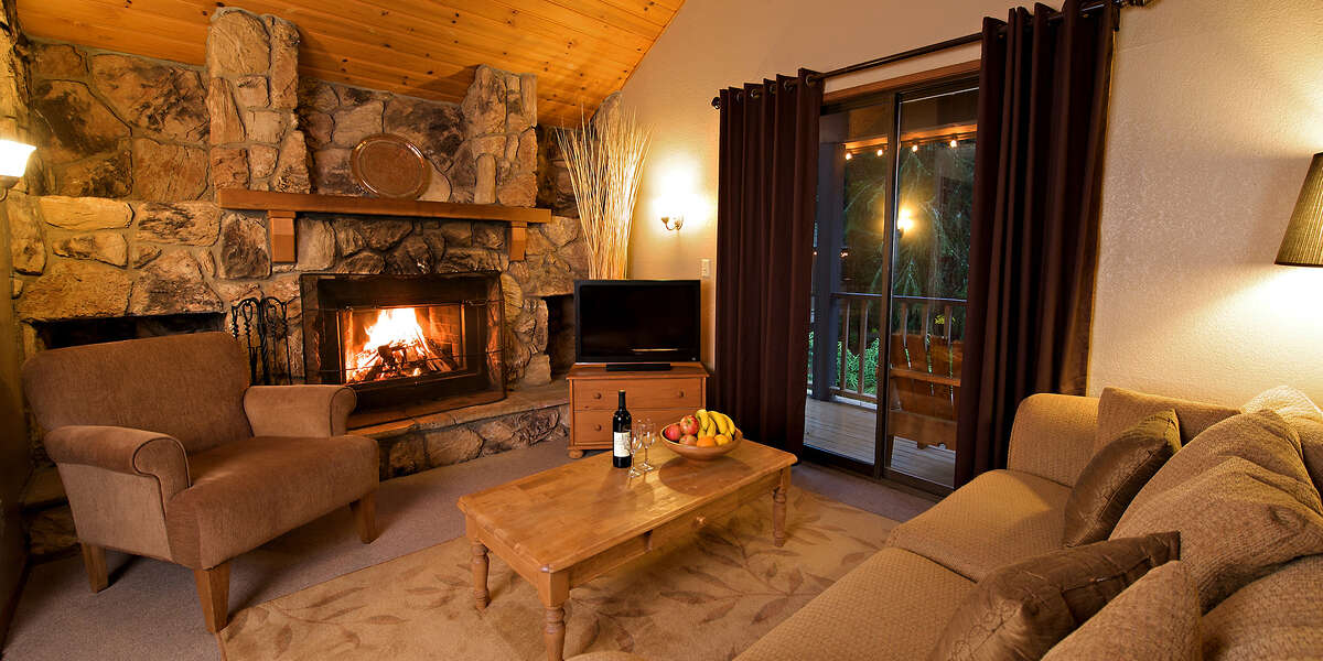 Chalet suite at Crystal.