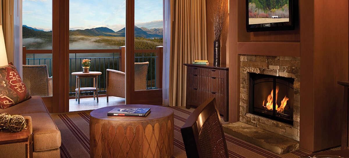 The lodge at Suncadia Resort.