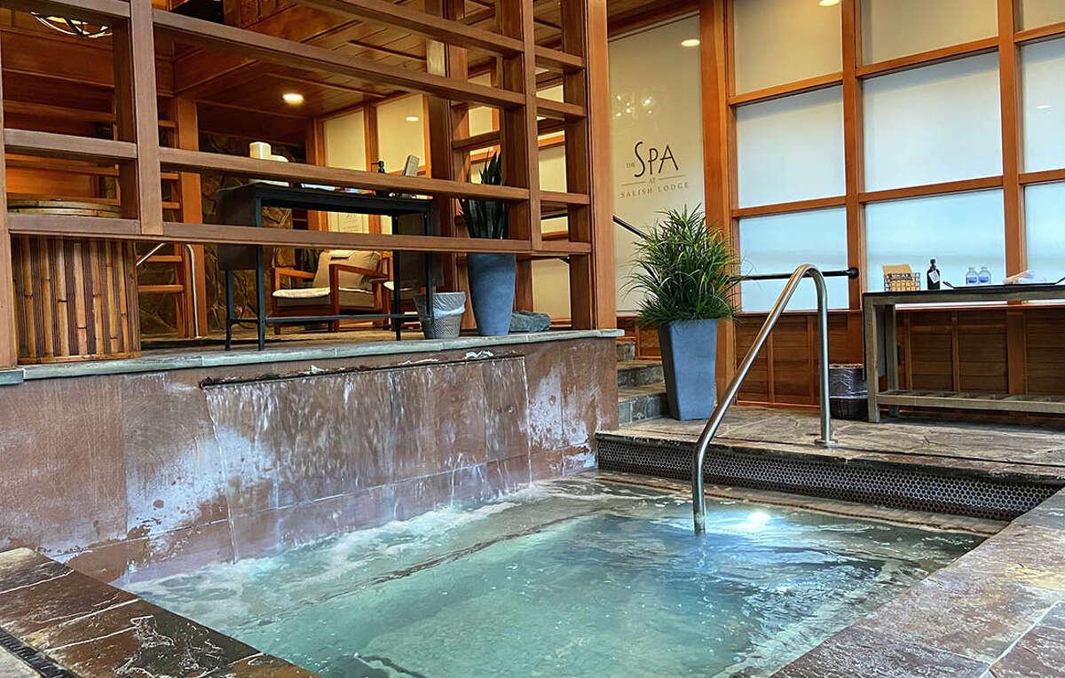 The spa at Salish Lodge.