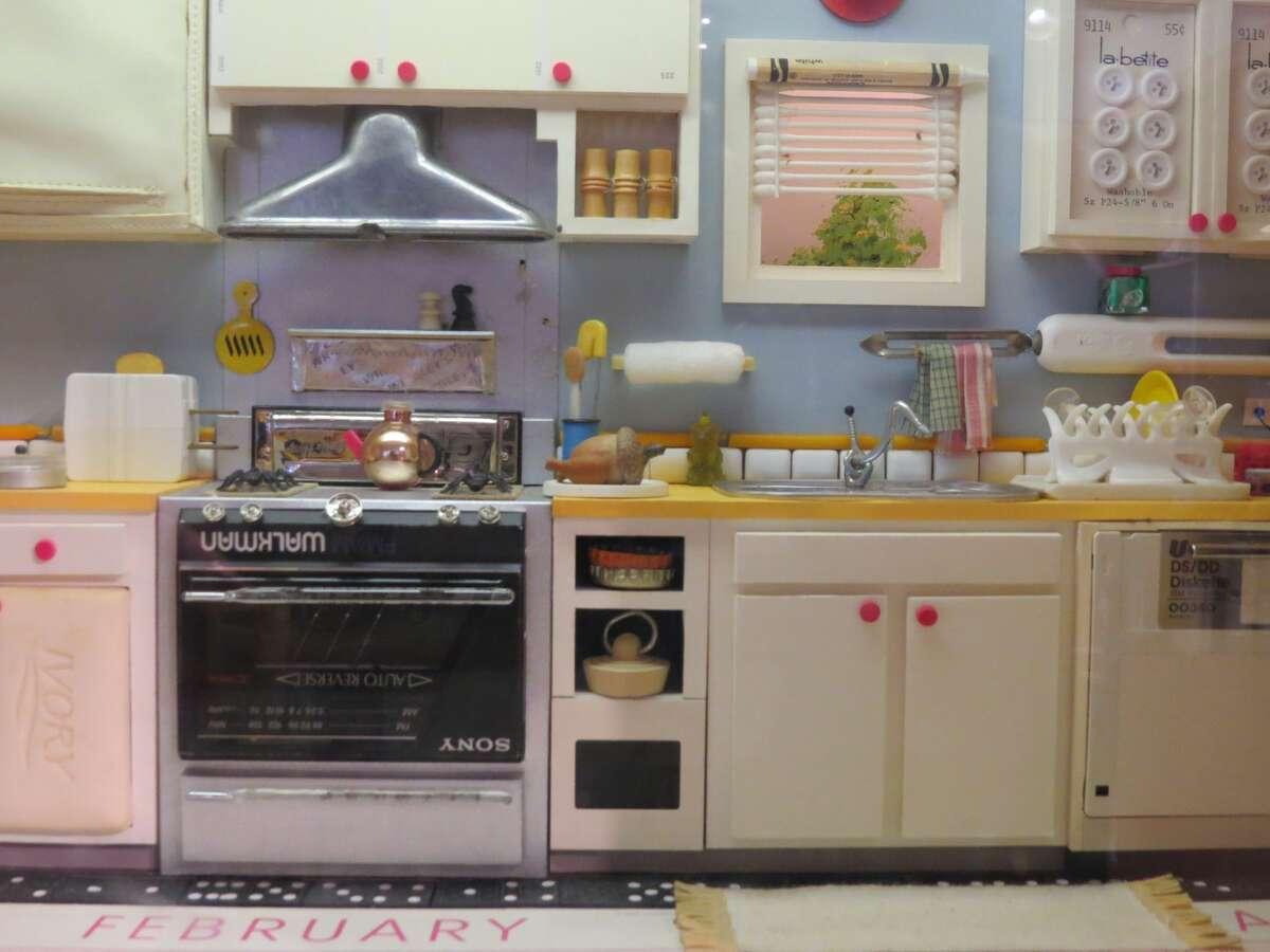 Kitchen scene byJoan Steiner