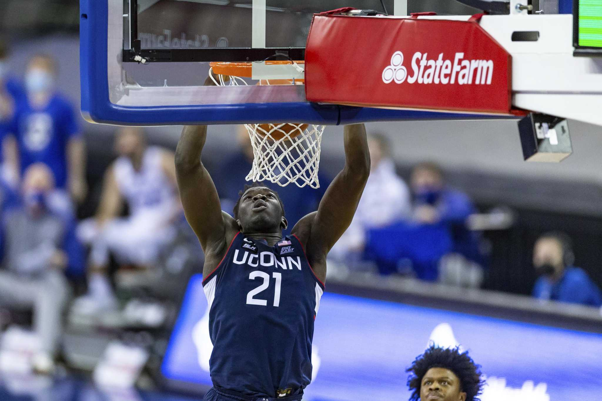 UConn by the numbers: Another big game for Sanogo, more missed layups and inside hoops